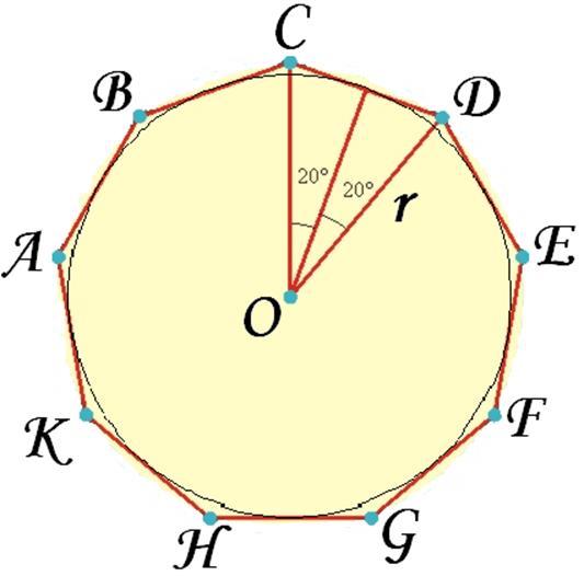 Девятиугольник в картинках