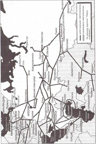 Сеть магистральных трубопроводов — Студопедия